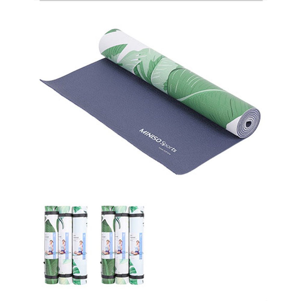 MINISO Yoga Mat-Thick  Yoga Mat Perfect for Home or Gym Use L173cm X W61cm X Thick 5mm