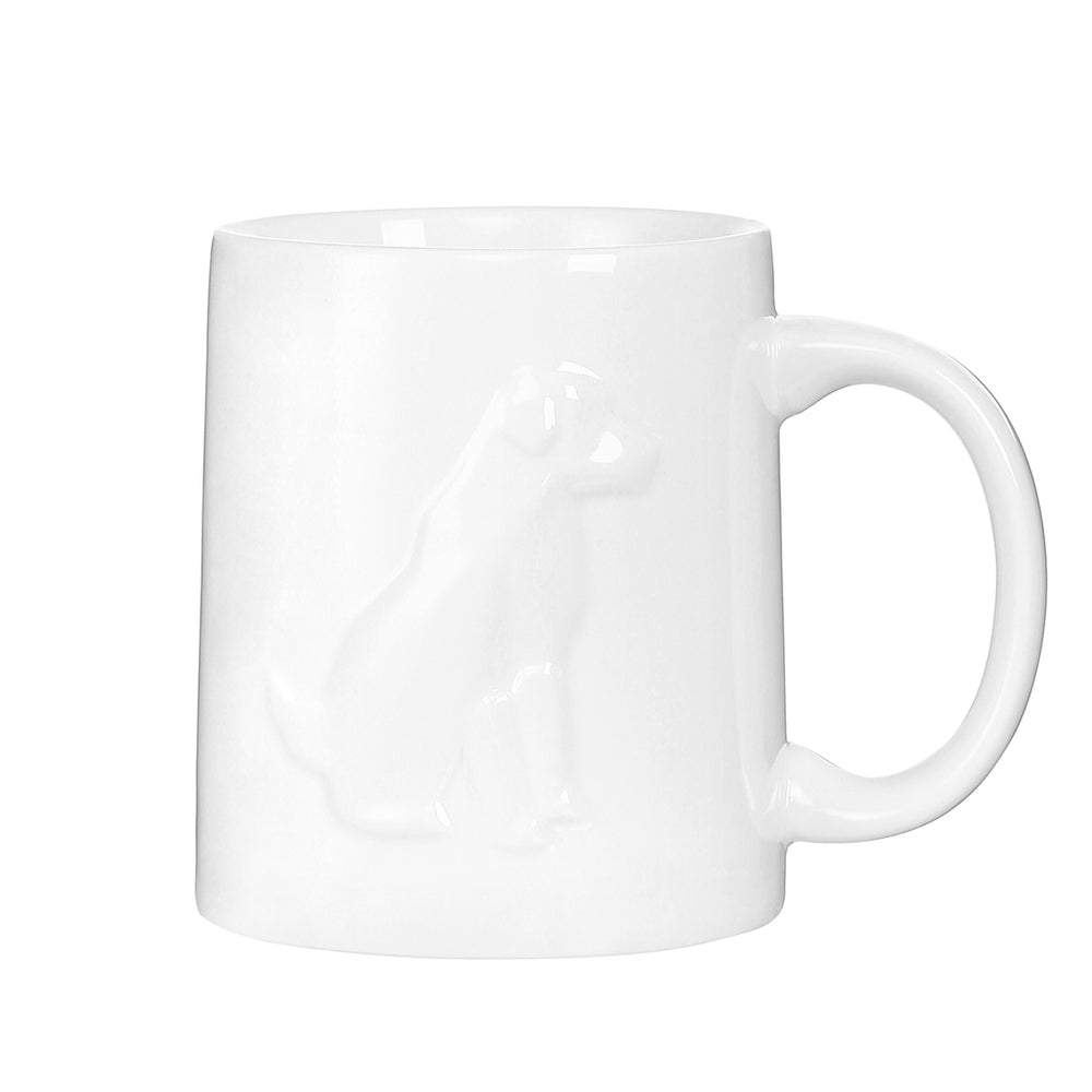 MINISO Puppy Ceramic Coffee Mug, 14oz