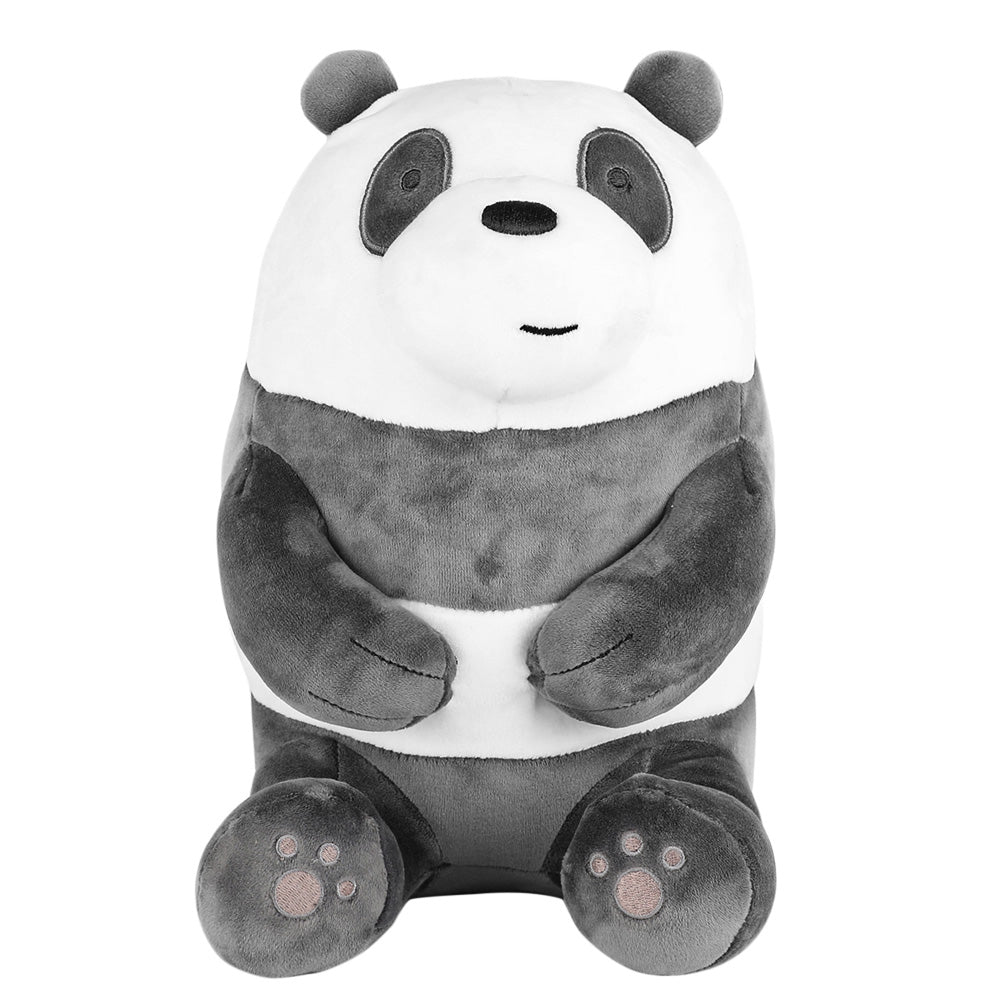 "MINISO x We Bare Bears - 11"" Lovely Sitting Plushie - Panda"