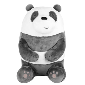 "Charger l'image dans la galerie, MINISO x We Bare Bears - 11"" Lovely Sitting Plushie - Panda"