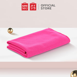 MINISO Sport - Sports Cooling Towel (Rose Red)