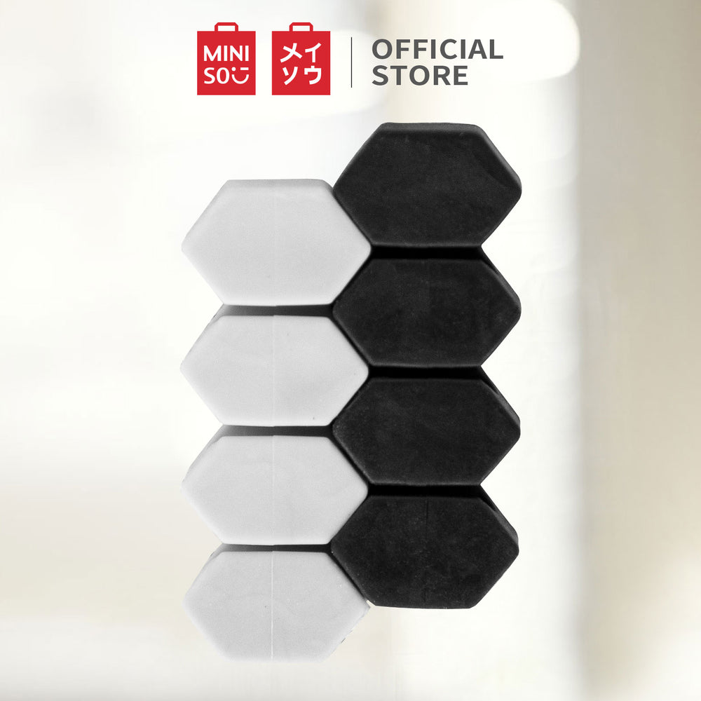 MINISO - Cable Organizer (Black + Grey)