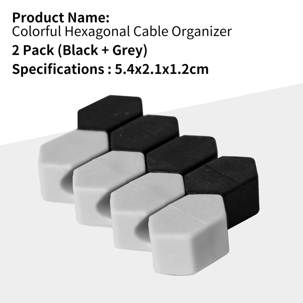 Load image into Gallery viewer, MINISO - Cable Organizer (Black + Grey)