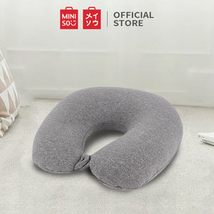 MINISO U-shaped Neck Pillow for Travel (Grey)