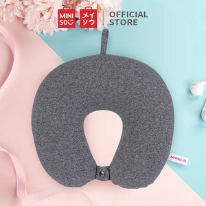 MINISO - U-shaped Neck Pillow for Travel (Black)