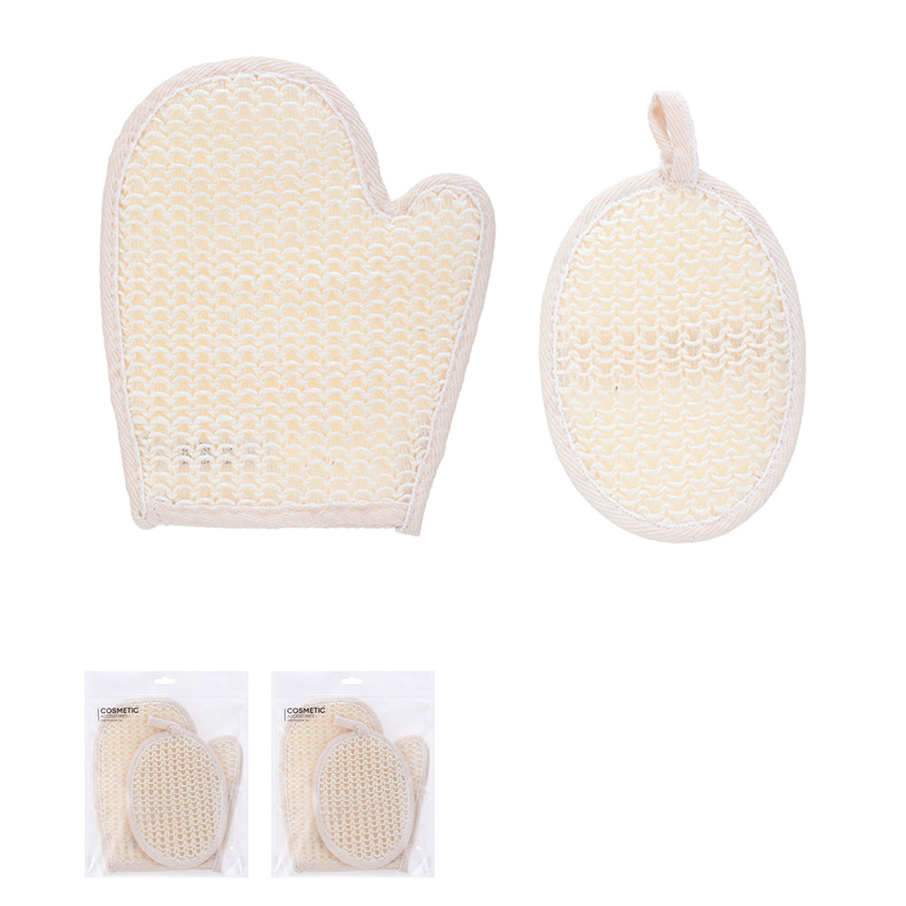 MINISO Bath Scrubber Set