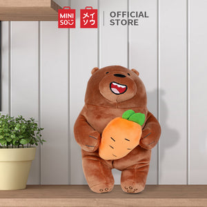 MINISO x We Bare Bears - Plush Grizzly Festival Series