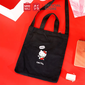 MINISO x Sanrio - Hello Kitty Embroidered Tote Bag