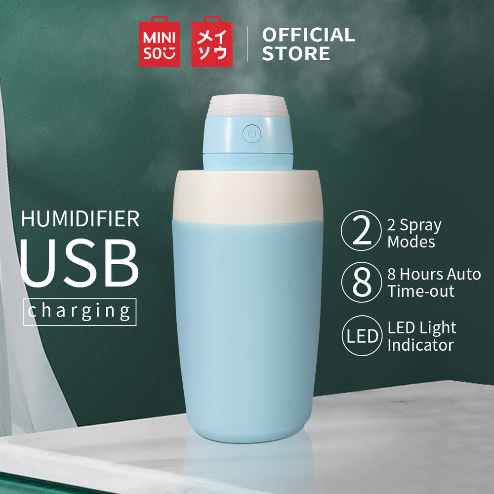 MINISO Ultrasonic Humidifiers for Bedroom - Blue