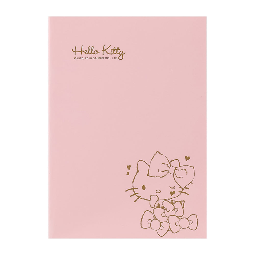 MINISO x Sanrio - Hello Kitty Thread-bound Notebook 32 Sheets 3 Pcs