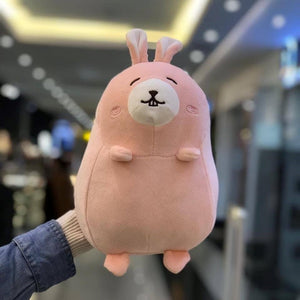 MINISO Round Rabbit Plush Toy (Pink)
