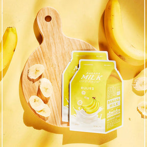 A'pieu - Milk One-Pack Banana Face Mask