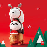 MINISO x We Bare Bears - Christmas Series Plush Toy