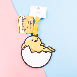 Load image into Gallery viewer, MINISO x Sanrio - Gudetama Luggage Tag