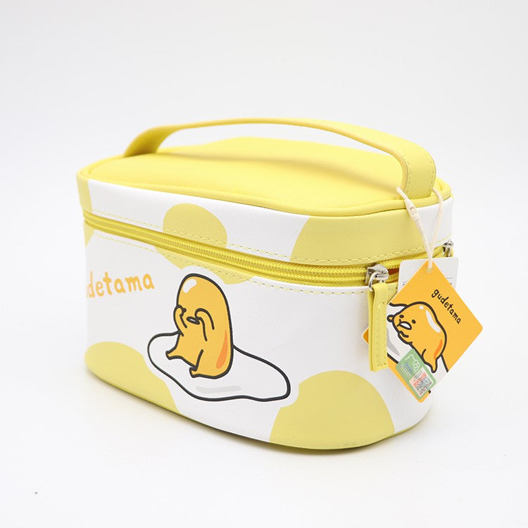 MINISO x Sanrio - Gudetama Portable Makeup Cosmetic Bag