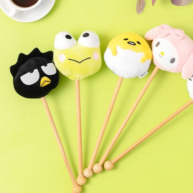 MINISO x Sanrio - Creative Plush Massage Hammer, Random Color