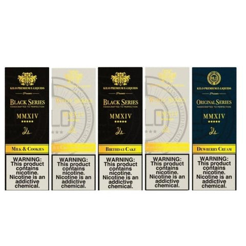 Kilo Classic Collection 100ml Shortfill 0mg (70VG/30PG) - vape store