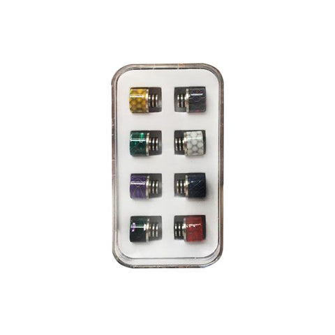 Replacement 510 Drip Tip Set - Pack of 8 - vape store