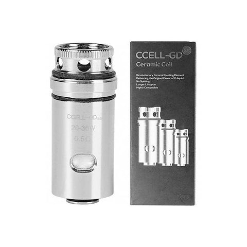 Vaporesso CCELL GD Ceramic 0.5 / 0.6 Ohm Coil - vaperstore.co.uk