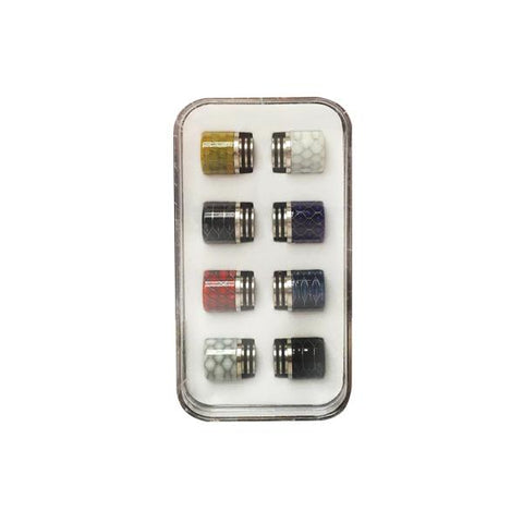 Replacement 810 Drip Tip Set - Pack of 8 - vape store