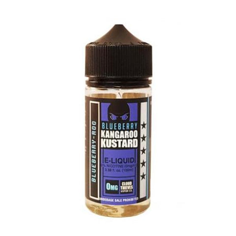 Blueberry Kangaroo Kustard by Cloud Thieves 120ml Shortfill 0mg (80VG-20PG) - vape store