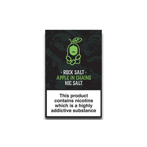 Rock Salt Nic Salt By Alfa Labs 20MG 10ml (50PG/50VG) - vape store