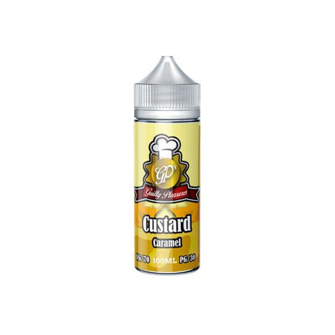 Guilty Pleasures Custard 0mg 100ml Shortfill (70VG/30PG) - vaperstore.co.uk