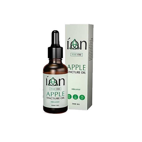 Ion Pure CBD 5000mg 30ml Tinture Oil Apple - vape store