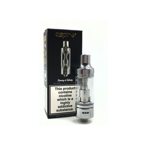 Aspire K1 Plus Stainless Steel Tank - 1.8 Ohm - vaperstore.co.uk