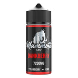 Mammoth CBD 7200mg CBD E-liquid 120ml (30VG/70PG) - vape store