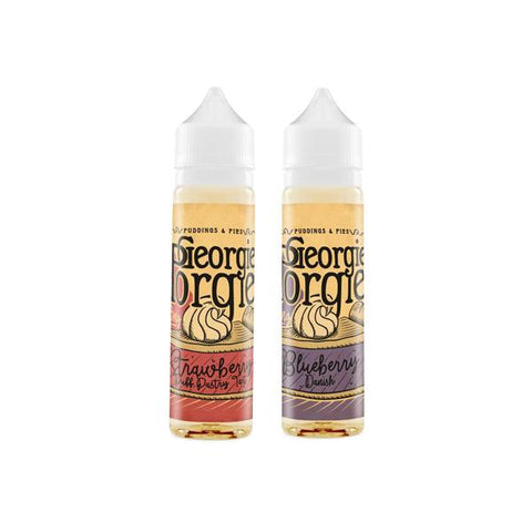 Georgie Porgie 0mg 50ml Shortfill (70PG/30VG) - vaperstore.co.uk