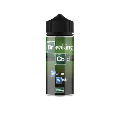 Breaking CBD 3000mg CBD E-Liquid 120ml (50VG/50PG) - vaperstore.co.uk
