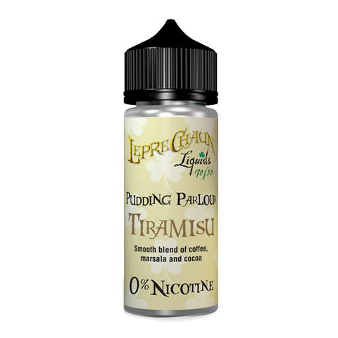 Leprechaun Pudding Parlour 120ml (100ml Shortfill + 2 x 10ml Nic Shots) (70VG/30PG) - vape store