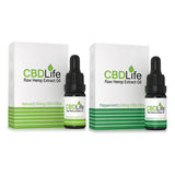 CBDLife 500mg CBD + CBDa Raw Hemp Extract Oil 10ml (6150972604612)