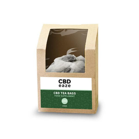 CBDeaze 100mg CBD Hemp Tea Bags (6150958448836)