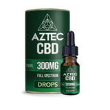Aztec CBD Full Spectrum Hemp Oil 300mg CBD 10ml - vape store