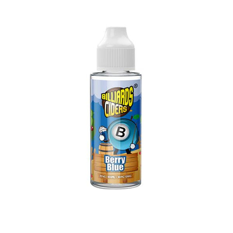 Billiards Ciders Range 100ml Shortfill 0mg (70VG/30PG) - vape store