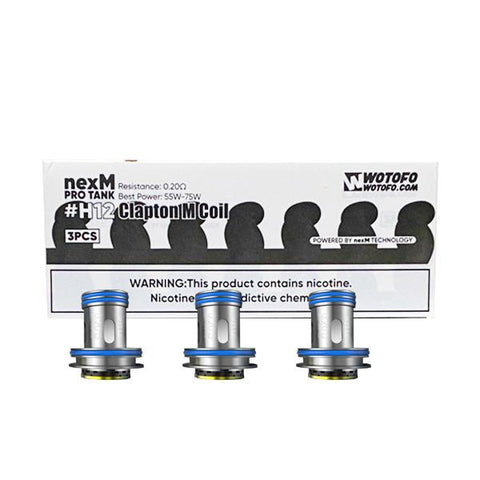Wotofo Replacement Coils for nexMesh Pro Tank - #H12 /#H13/ #H15 - vape store (6070846718148)