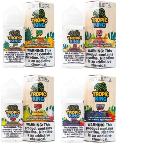 Tropic King 0mg 120ml Shortfill (70VG/30PG) - vape store