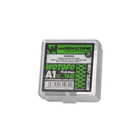 Wotofo NexMesh Mesh Strips 0.16ohms/ 0.15ohms/0.13ohms - vaperstore.co.uk