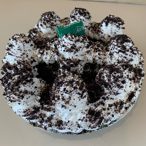 grasshopper pie whipped cream