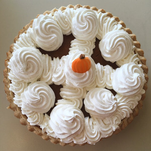 pumpkin pie whipped cream