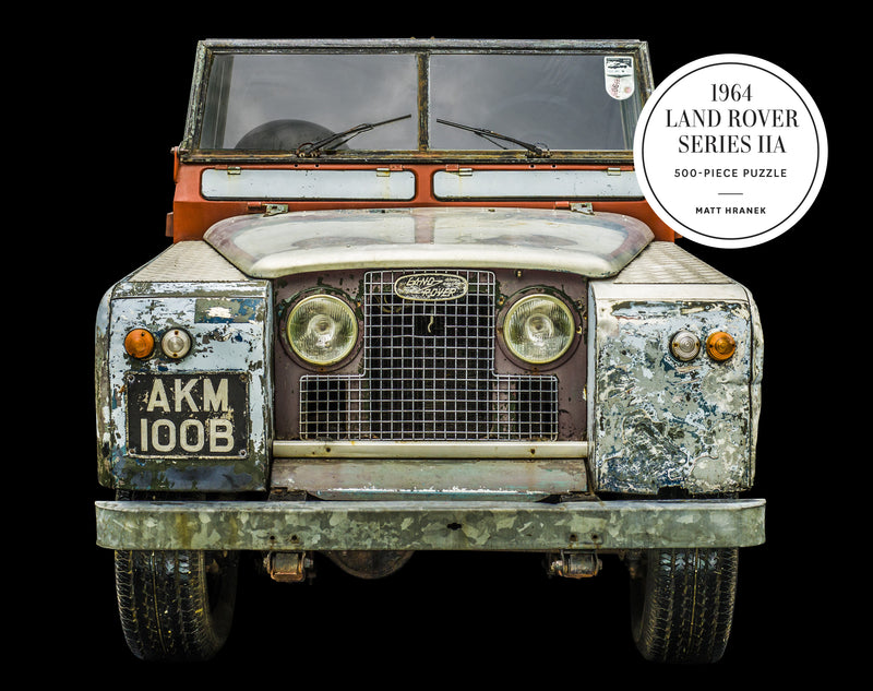 1964 Land Rover Series IIA 500-Piece Puzzle