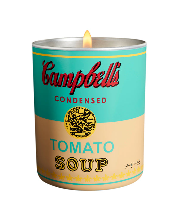 Pop Wood Andy Warhol Candle