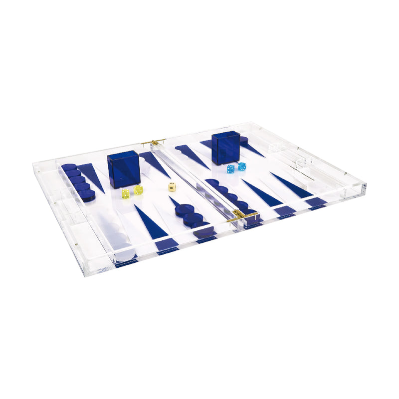 Acrylic Clear Backgammon