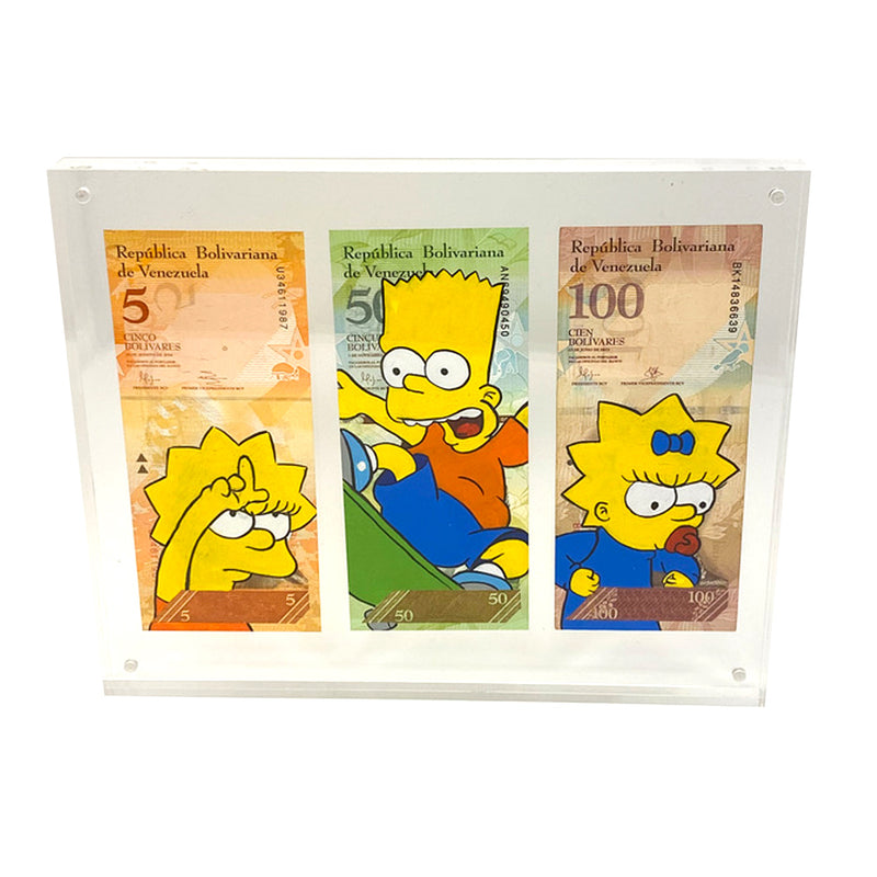 Simpson Kids Currency Art