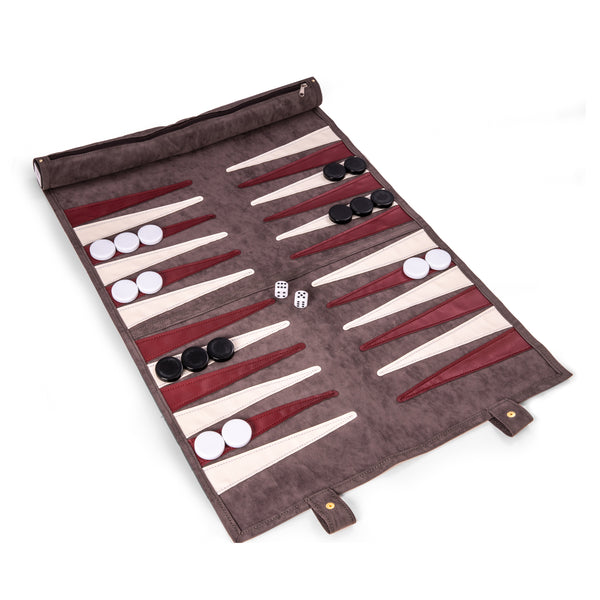 Roll-Up Backgammon