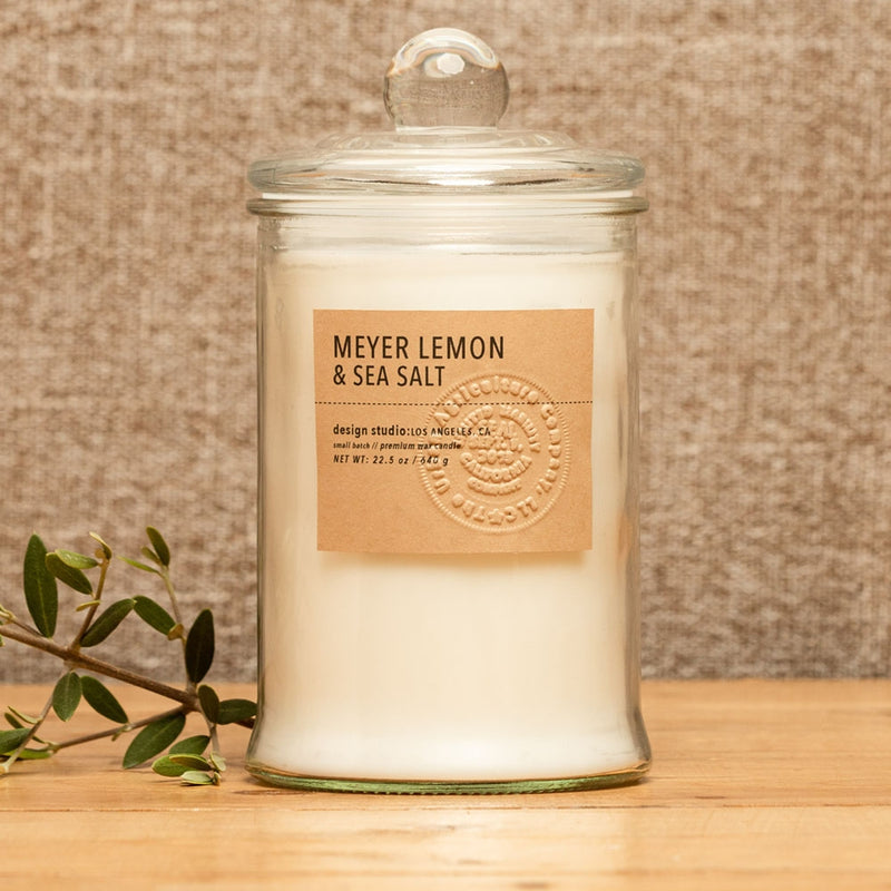 Meyer Lemon & Sea Salt Candle