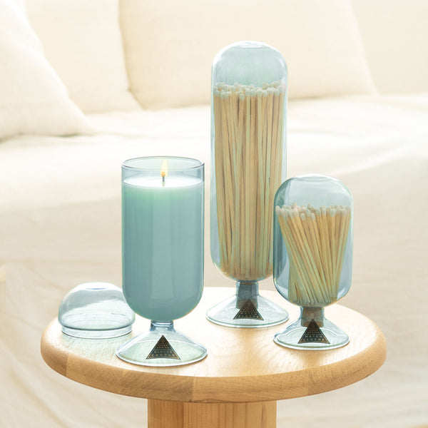 Jasmine & Lotus Cloche Candle