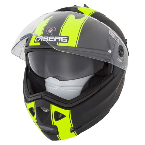 Caberg Duke II Legend Matt Black/Fluo - Midwest Moto Shop